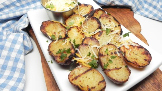 Photo of Grilled Greek Potatoes by Bren