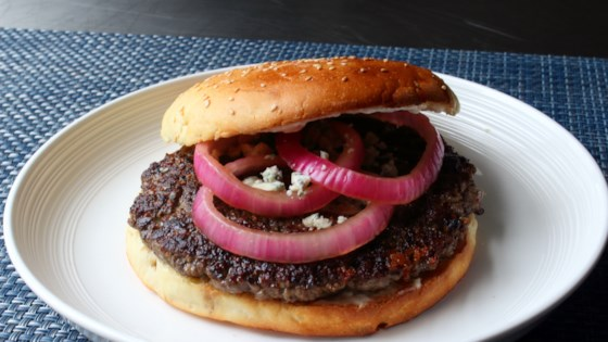 Photo of Black and Blue Steak Burger by Chef John
