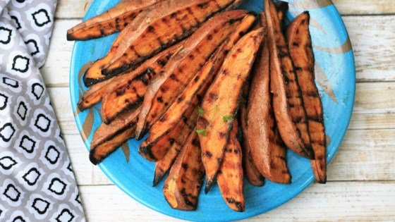 Photo of Grilled Sweet Potato Wedges by France C