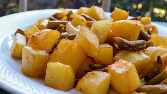 Photo of Maple-Mustard Glazed Vegetables  by heatherteeter