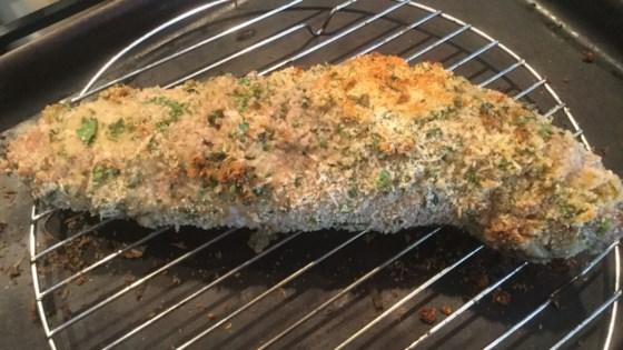 Photo of Parsley and Parmesan Crusted Pork Tenderloin by TudorPrincess