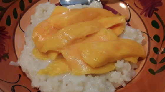 Photo of Sticky Rice with Coconut Milk and Mango by Lacey