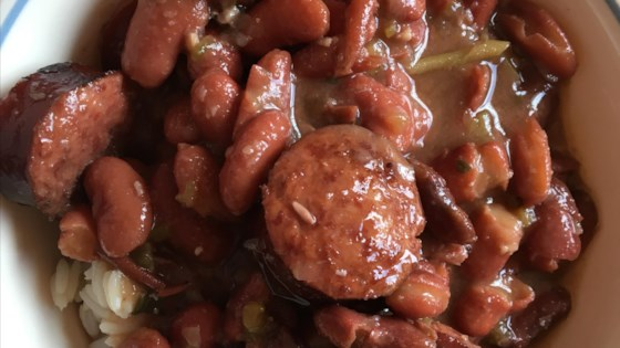 Photo of Authentic, No Shortcuts, Louisiana Red Beans and Rice by Melissa S.