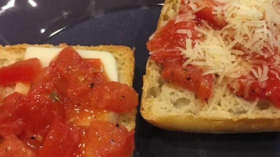 Photo of Tomato-Garlic Bread by Ali