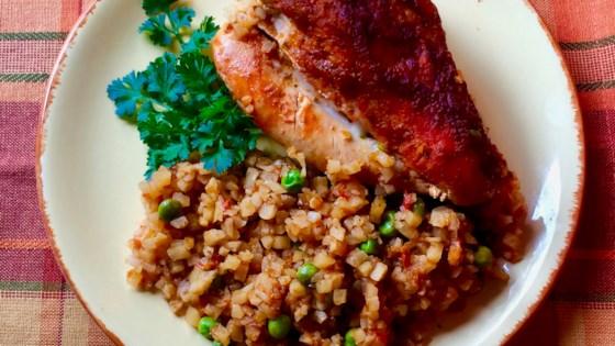 Photo of Sofrito Chicken and Cauliflower Rice by Bibi