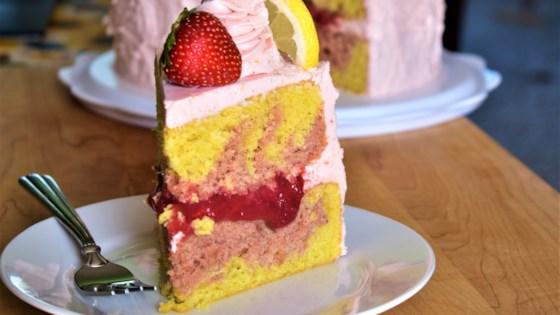 Photo of Strawberry Lemonade Cake by Kim