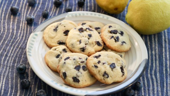 Photo of Blueberry-Lemon Butter Cookies  by PJ's kitchen