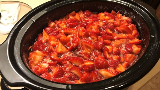 Photo of Strawberry Jam in a Slow Cooker by kathyr