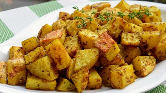 Za'atar Roasted Potatoes Recipe