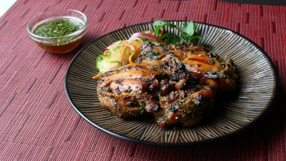 Laotian Grilled Chicken (Ping Gai) Recipe