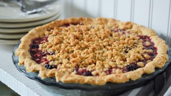 Photo of Best Homemade Blackberry Pie by Baker#1