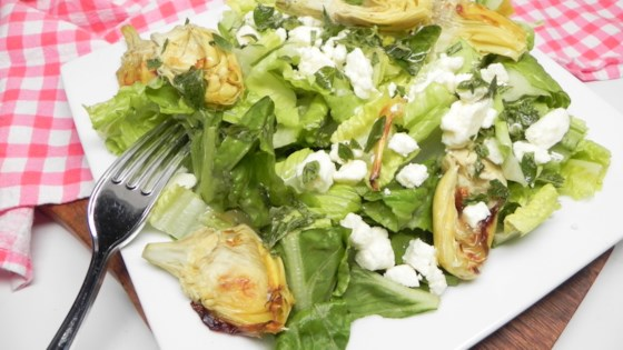 Photo of Roasted Artichoke Greek Salad by Heather