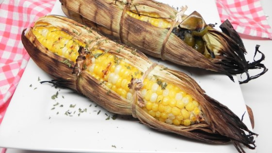 Photo of Grilled Corn with Green Chile  by merryc