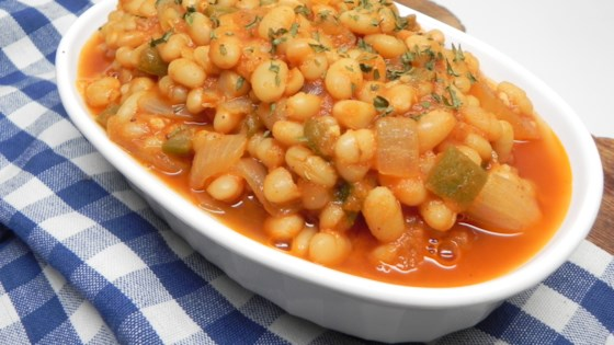 Photo of Instant Pot® Vegetarian Baked Beans by Soup Loving Nicole