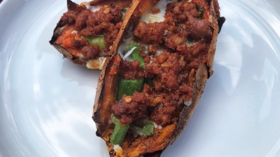 Photo of Baked Sweet Potato Skins by fouab