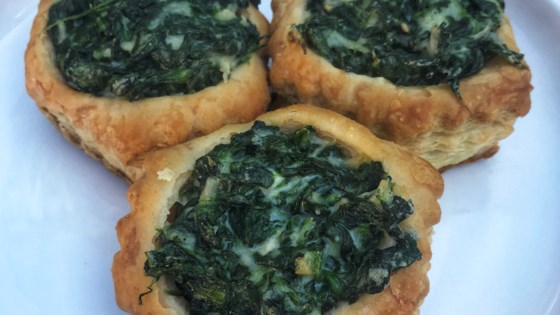 Photo of Spinach and Goat Cheese Phyllo Cups  by HUNGRYJENN