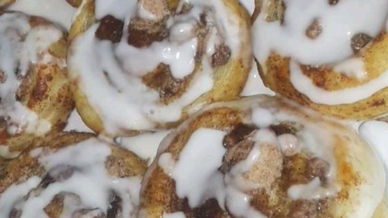 Photo of Puff Pastry Cinnamon Rolls by KLUTZ7843