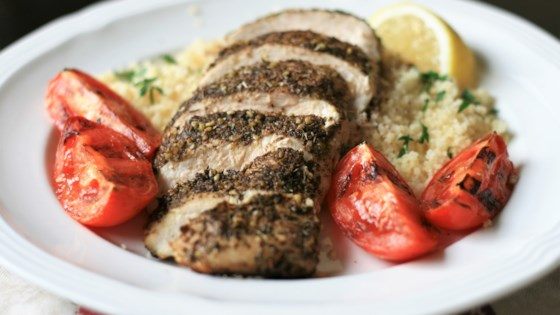 Photo of Oven-Roasted Za'atar Chicken Breasts by France C