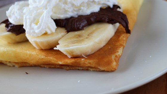 Photo of Nutella®, Banana, and Whipped Cream-Filled Crepes  by Island Girl