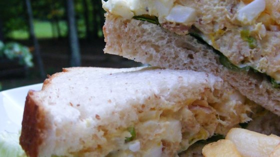 Photo of Curry Chicken Salad with Eggs by Susan B. Taliaferrp