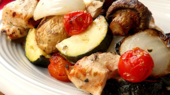 Photo of Greek Island Chicken Shish Kebabs by Dolce Cuoco