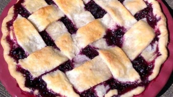 Photo of Jewel's Black Raspberry Pie by RainbowJewels