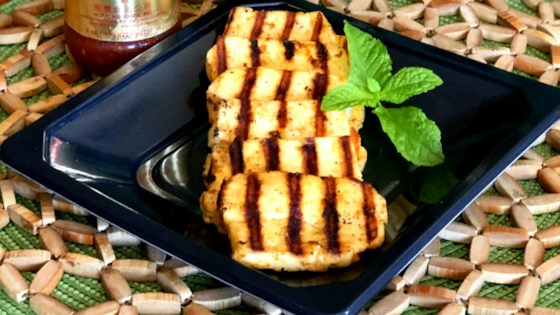 Photo of Grilled Spicy Halloumi Cheese by Yoly