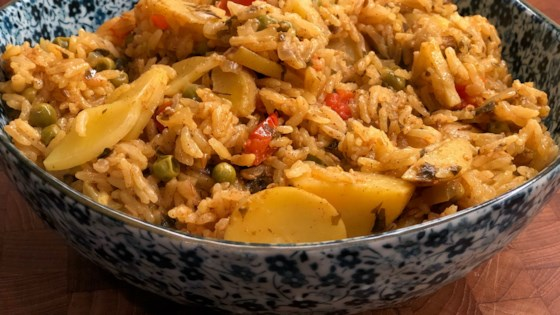 Photo of Instant Pot® Pudina Pulao (Mint Rice) by Diana71