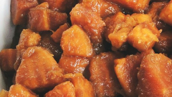 Photo of Brandied Candied Sweet Potatoes with Brown Sugar by Kathy Bennett