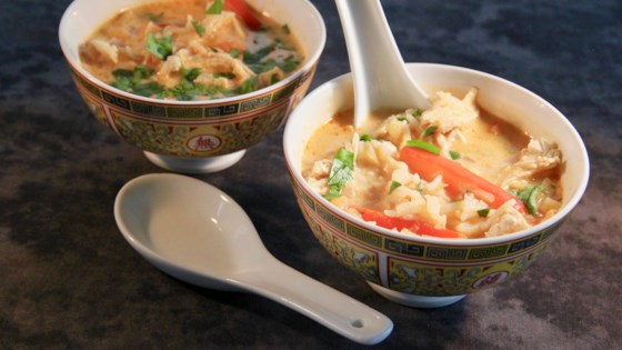 thai red curry chicken soup review by pamie t