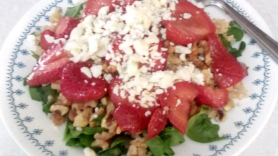 Photo of Strawberry Quinoa Salad by Genevieve Le Roux
