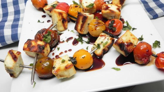 Photo of Grilled Halloumi Kebabs by Soup Loving Nicole
