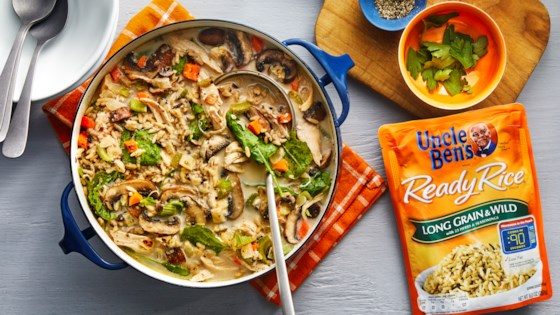 Photo of Creamy Chicken & Rice Soup by Uncle Ben's