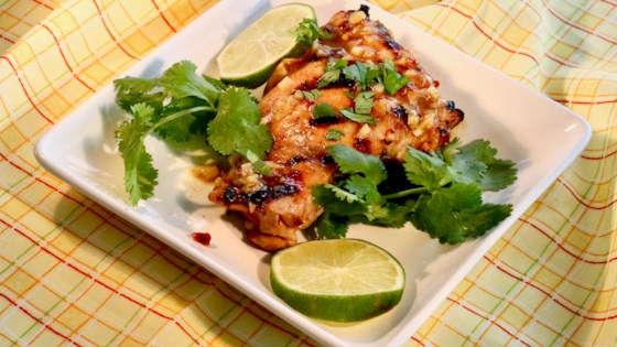 Photo of Grilled Chile-Cilantro-Lime Chicken by boltfan