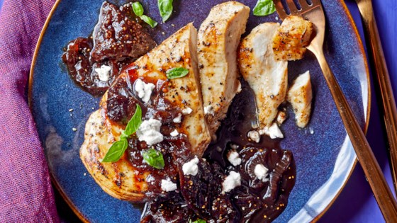 Photo of Grilled Chicken with Fig Chutney by Emily Paster