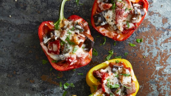 Photo of Ratatouille-Stuffed Peppers by Betty Soup