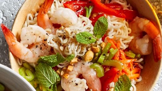 Photo of Shrimp Noodle Bowls by Betty Soup