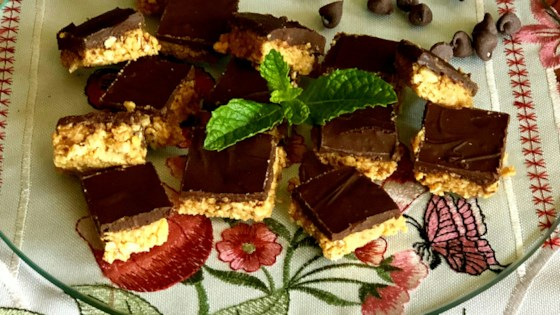 Photo of Chocolate and Peanut Butter Oat Bars by Lisa G