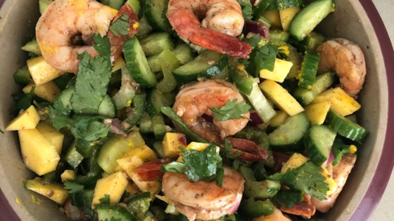 Photo of Topsail Island Shrimp Summer Salad by Classy Pour