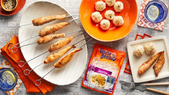 Photo of Teriyaki Chicken and Rice Balls by Uncle Ben's
