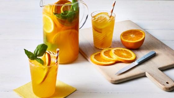 Photo of Orange-Basil Sparkler by Emergen-C®