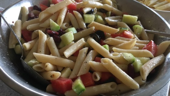 Photo of Easy Vegan Pasta Salad by KayBee63
