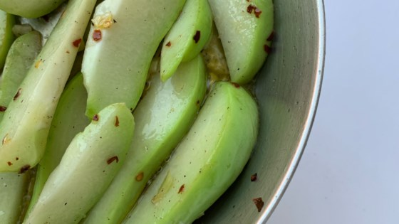 Photo of Chayote Squash Side Dish by Navy S.