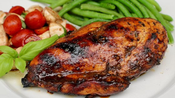 Photo of Grilled Balsamic Chicken Breast by My Hot Southern Mess