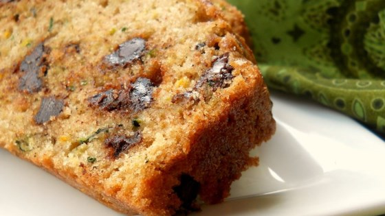 Chocolate Chip Orange Zucchini Bread Recipe