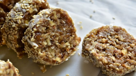 Photo of Sesame Date Rolls by Kim
