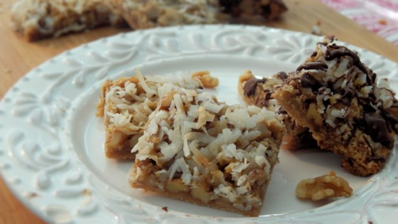 Photo of Ollie Bean's Coconut Bar Cookies by Ashley S
