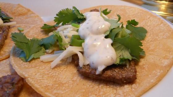 Photo of Steak Tacos with Spicy Yogurt Sauce by HAIDERZ