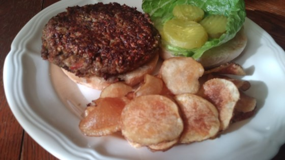 Photo of Vegan Black Bean Burgers with Oats by Crystal Lirette