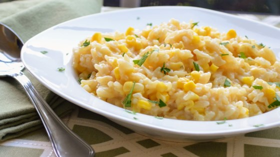 Photo of Instant Pot® Fresh Corn Risotto by Kim's Cooking Now